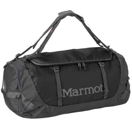 Marmot Long Hauler Duffel Bag- Large in Slate Grey/Black - Closeouts