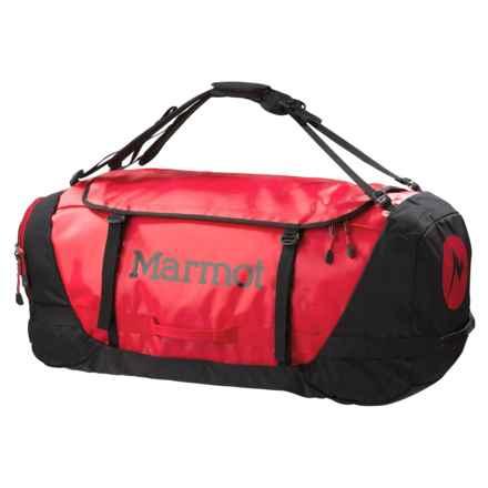 Marmot Long Hauler Duffel Bag- Large in Team Red/Black - Closeouts