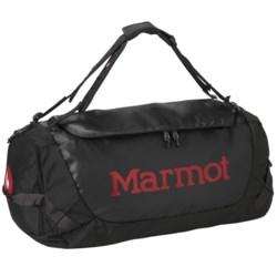 Marmot Long Hauler Duffel Bag - Medium in Black