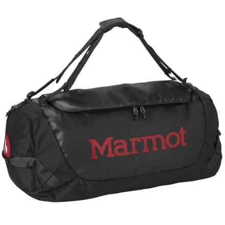 Marmot Long Hauler Duffel Bag - Medium in Black - Closeouts