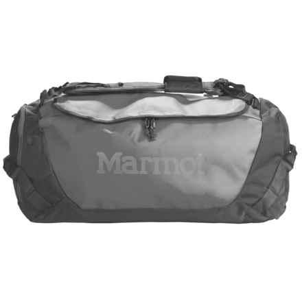 Marmot Long Hauler Duffel Bag - Medium in Cinder - Closeouts