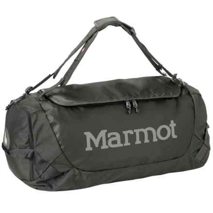 Marmot Long Hauler Duffel Bag - Medium in Slate Grey/Black - Closeouts