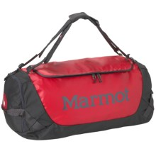 Marmot Long Hauler Duffel Bag - Medium in Team Red/Slate Grey - Closeouts