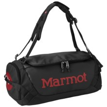 Marmot Long Hauler Duffel Bag- Small in Black - Closeouts