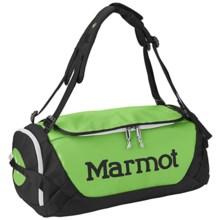 Marmot Long Hauler Duffel Bag- Small in Green Envy/Black - Closeouts