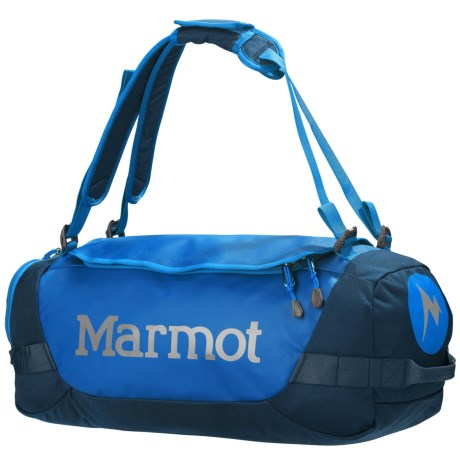 Marmot Long Hauler Duffel Bag - Small in Peak Blue/Vintage Navy