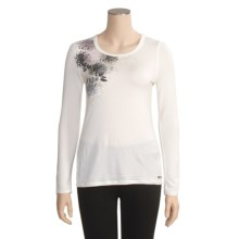 Marmot Lotus Garden Shirt - Long Sleeve (For Women) in Turtle Dove - Closeouts