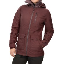 Marmot Lovenia MemBrain® Jacket - Waterproof, Insulated (For Women) in Red Night - Closeouts