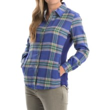 Marmot Maci Flannel Shirt - UPF 50, Long Sleeve (For Women) in Midnight Purple - Closeouts
