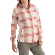 Marmot Maci Flannel Shirt - UPF 50, Long Sleeve (For Women) in Raspberry - Closeouts