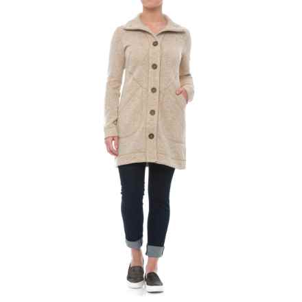 Marmot Maddie Sweater Jacket (For Women) in Oatmeal Heather - Closeouts