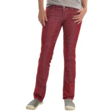 Marmot Madison Jeans - UPF 50+, Straight Leg (For Women) in Berry Wine - Closeouts