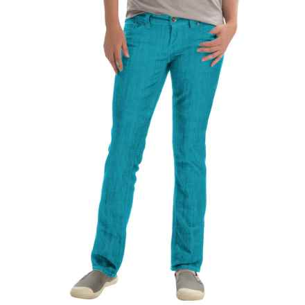 Marmot Madison Jeans - UPF 50+, Straight Leg (For Women) in Blue Sea - Closeouts