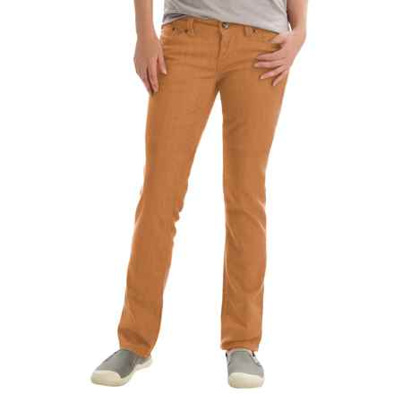 Marmot Madison Jeans - UPF 50+, Straight Leg (For Women) in Camel - Closeouts