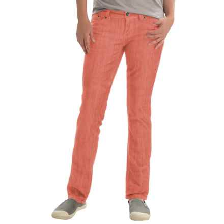 Marmot Madison Jeans - UPF 50+, Straight Leg (For Women) in Emberglow - Closeouts