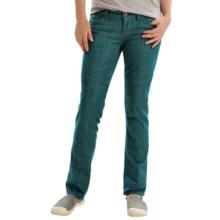 Marmot Madison Jeans - UPF 50+, Straight Leg (For Women) in Sea Scape - Closeouts