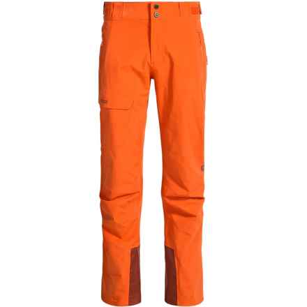 Marmot Mainline Gore-Tex® Snow Pants - Waterproof (For Men) in Sunset Orange - Closeouts