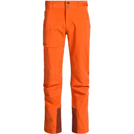 Marmot Mainline Gore-Tex® Snow Pants - Waterproof (For Men) in Sunset Orange