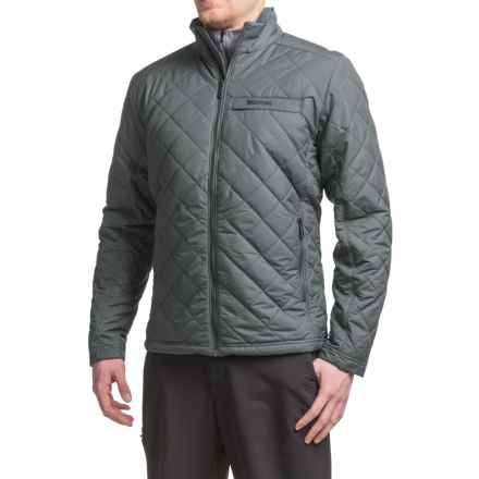 Marmot Manchester Jacket - Insulated (For Men) in Steel Onyx - Closeouts