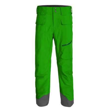 Marmot Mantra MemBrain® Ski Pants - Waterproof, Insulated (For Men) in Green Bean - Closeouts