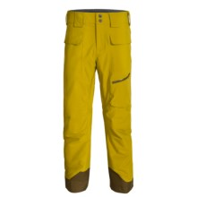 Marmot Mantra MemBrain® Ski Pants - Waterproof, Insulated (For Men) in Green Mustard - Closeouts