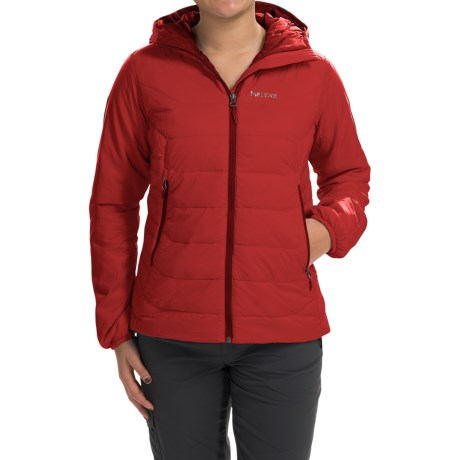 Marmot Megawatt Polartec® Alpha® Down Jacket - 800 Fill Power (For Women) in Cherry Tomato
