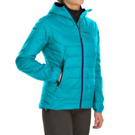 Marmot Megawatt Polartec® Alpha® Down Jacket - 800 Fill Power (For Women) in Sea Breeze - Closeouts