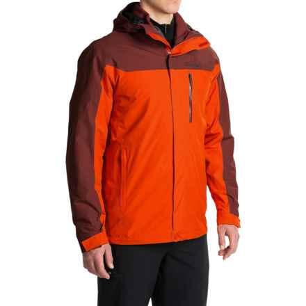 Marmot MemBrain® Ramble Component Hooded Jacket - Waterproof, 3-in-1 (For Men) in Mars Orange/Marsala Brown - Closeouts