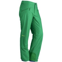 Marmot Meribel MemBrain® Snow Pants - Waterproof, Insulated (For Women) in Dark Fern - Closeouts