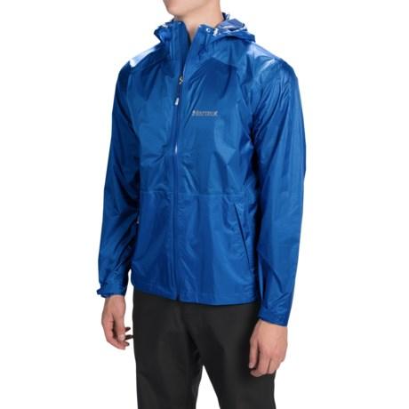 Marmot Mica MemBrain® Strata Jacket - Waterproof (For Men) in Blue Night