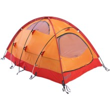 Marmot Midgard 2 Tent - 2-Person, 4-Season in Pale Pumpkin/Terracotta - Closeouts