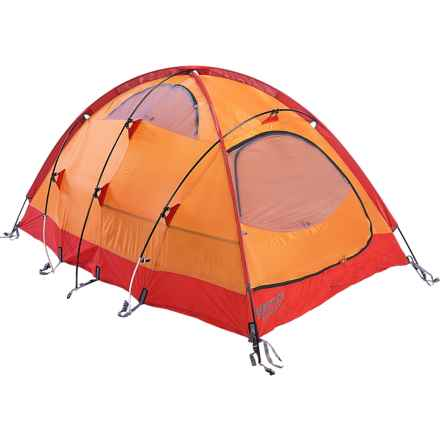 Marmot Midgard 2 Tent - 2-Person, 4-Season in Terra Cotta/Pale Pumpkin - Closeouts