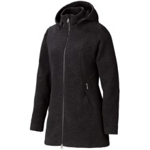 Marmot Milan Jacket - Fleece (For Women) in Black Heather - Closeouts