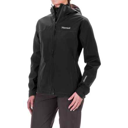 Marmot Minimalist Gore-Tex® Jacket - Waterproof (For Women) in Black - Closeouts