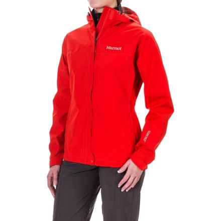 Marmot Minimalist Gore-Tex® Jacket - Waterproof (For Women) in Cherry Tomato - Closeouts