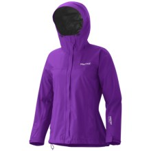 Marmot Minimalist Gore-Tex® Jacket - Waterproof (For Women) in Vibrant Purple - Closeouts