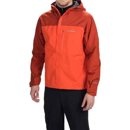 Marmot Minimalist Gore-Tex® PacLite® Jacket - Waterproof (For Men) in Sunset Orange/Rusted Oran - Closeouts