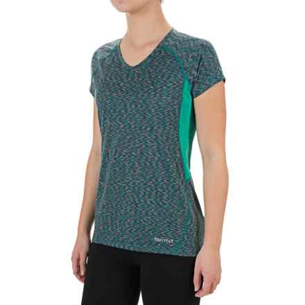 Marmot Mirage T-Shirt - UPF 40, Short Sleeve (For Women) in Lush - Closeouts