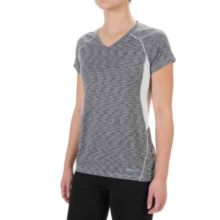 Marmot Mirage T-Shirt - UPF 40, Short Sleeve (For Women) in White - Closeouts