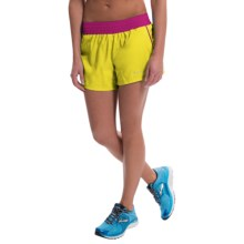 Marmot Mobility Shorts - UPF 30 (For Women) in Acid Yellow - Closeouts