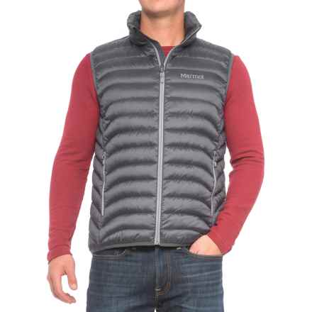 Marmot Modi Down Vest - 600 Fill Power (For Men) in Steel Onyx - Closeouts