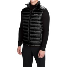 Marmot Modi Down Vest - 700 Fill Power (For Men) in Black - Closeouts