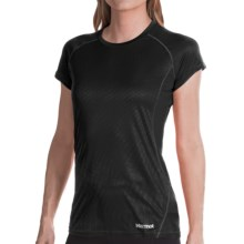 Marmot Moisture-Wicking Shirt -UPF 50, Short Sleeve (For Women) in Black - Closeouts