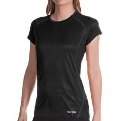 Marmot Moisture-Wicking Shirt -UPF 50, Short Sleeve (For Women) in Black