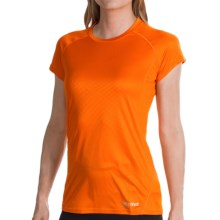 Marmot Moisture-Wicking Shirt -UPF 50, Short Sleeve (For Women) in Orange Spice - Closeouts
