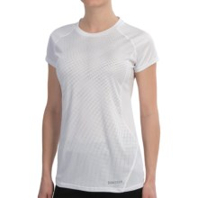Marmot Moisture-Wicking Shirt -UPF 50, Short Sleeve (For Women) in White - Closeouts