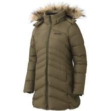 Marmot Montreal Down Coat - 650 Fill Power (For Women) in Dark Olive - Closeouts