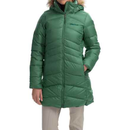 Marmot Montreal Down Coat - 700 Fill Power (For Women) in Urban Army - Closeouts
