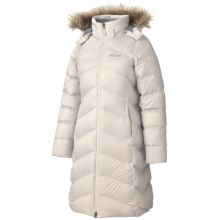 Marmot Montreaux Down Coat - 650 Fill Power (For Women) in Whitestone - Closeouts