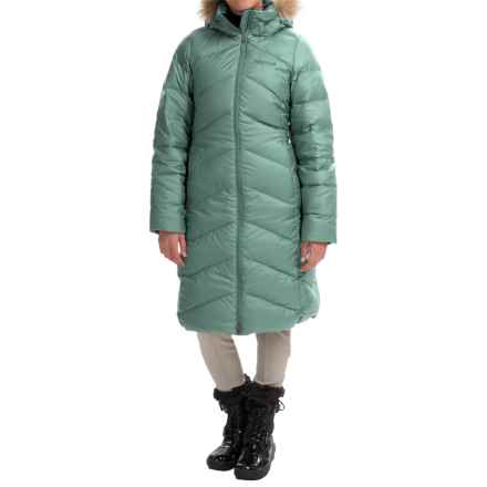Marmot Montreaux Down Coat - 700 Fill Power (For Women) in Urban Army - Closeouts